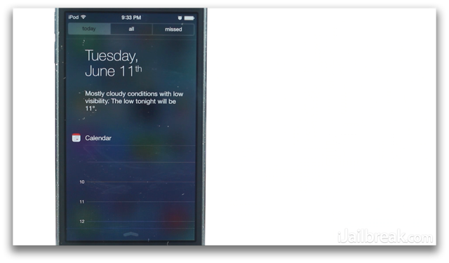 iOS 7 Beta Review Notification Center-iJailbreak