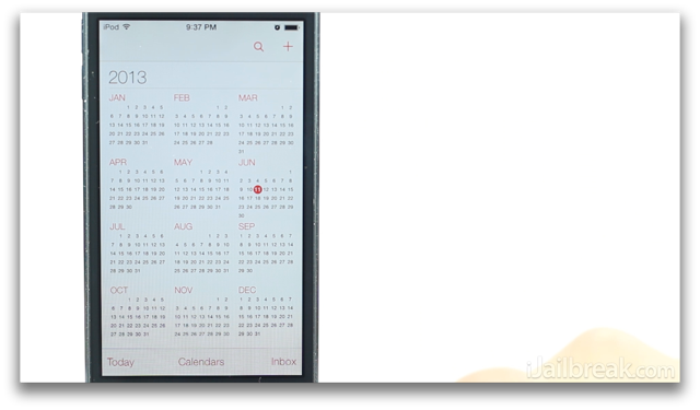 iOS 7 Beta Review Calendar App-iJailbreak
