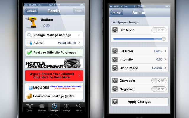 Sodium-Cydia-Tweak