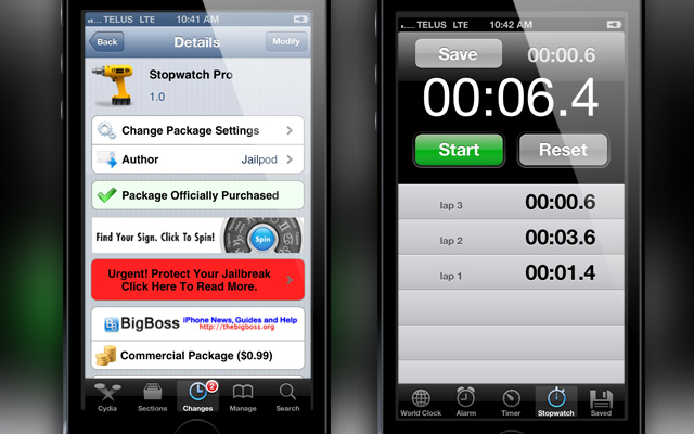 Stopwatch-Pro-Cydia-Tweak