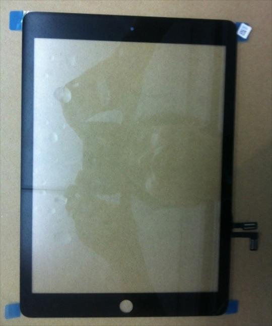5th generation iPad front Panel