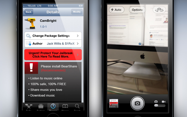 CamBright-Cydia-Tweak