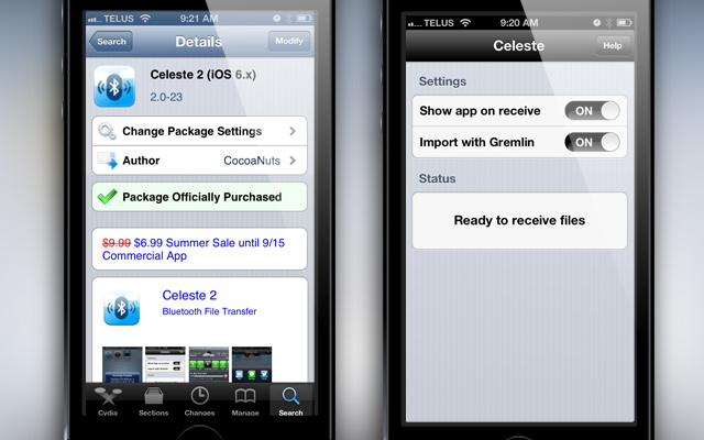 Celeste 2 Cydia Tweak Review