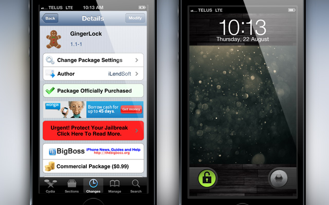 GingerLock-Cydia-Tweak