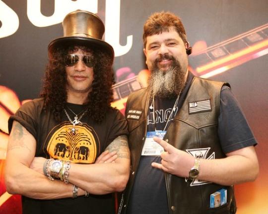 Jim Dalrymple With Slash