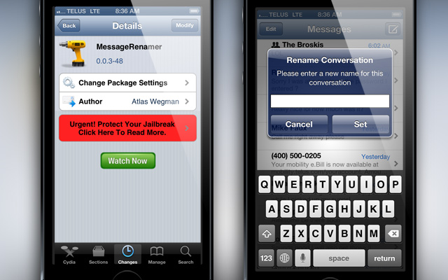 MessageRenamer-Cydia-Tweak