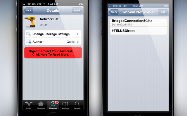 NetworkList-Cydia-Tweak