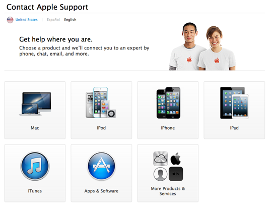 Apple Launches Re-Design AppleCare Website With Live Chat