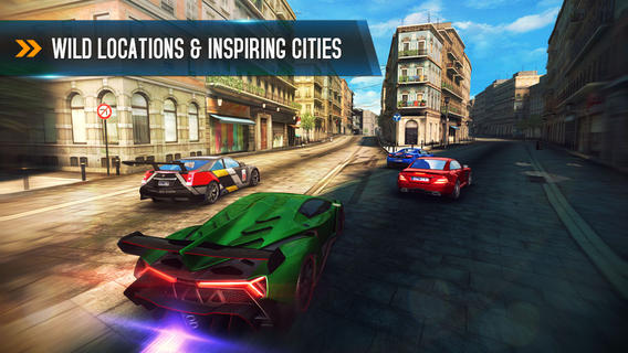 Asphalt 8: Airborne Cities