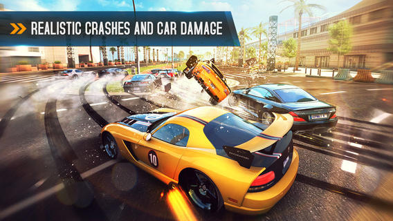 Asphalt 8: Airborne Car Damage