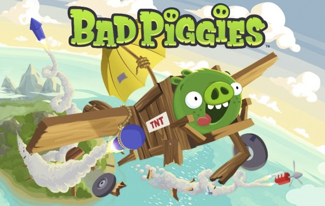 Bad Piggies For iOS, Apple's New App Of The Week