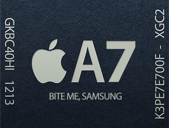 Samsung Announces Plans To Copy The iPhone's 64-Bit Processor