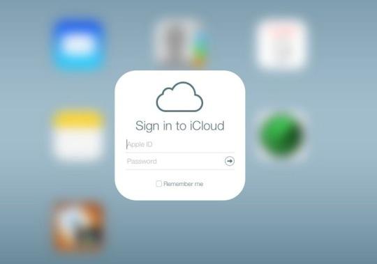 iCloud Redesign Login