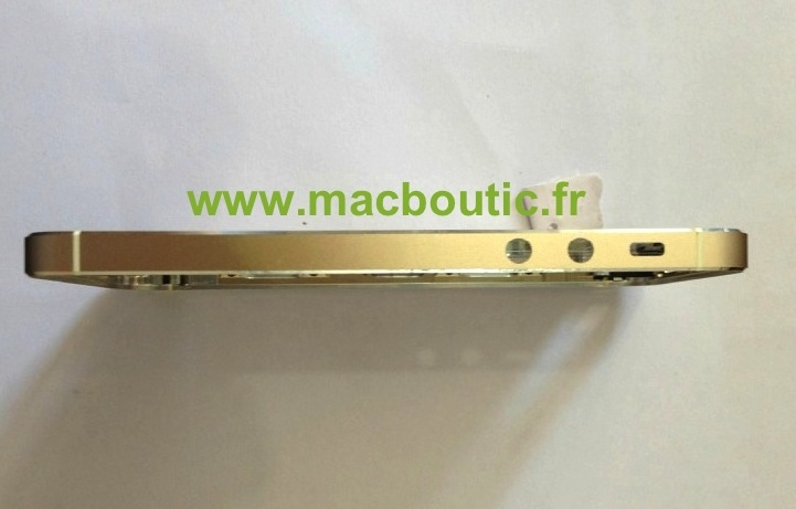 Gold iPhone 5S Left Side