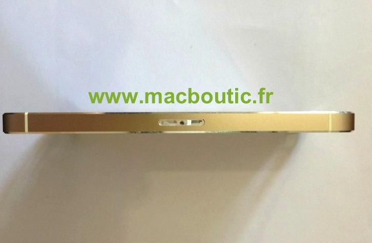 Gold iPhone 5S Right Side
