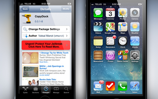 CopyDock-Cydia-Tweak