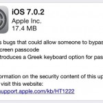 Apple Releases iOS 7.0.2 To Fix Lockscreen Bugs, Download Now
