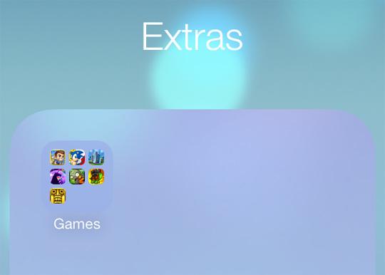 Net Folders iOS 7