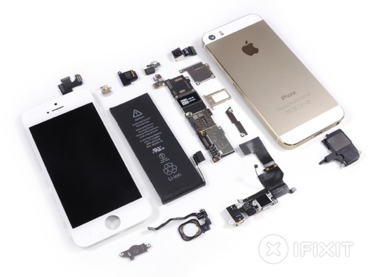 iFixit iPhone 5s and iPhone 5c Teardown