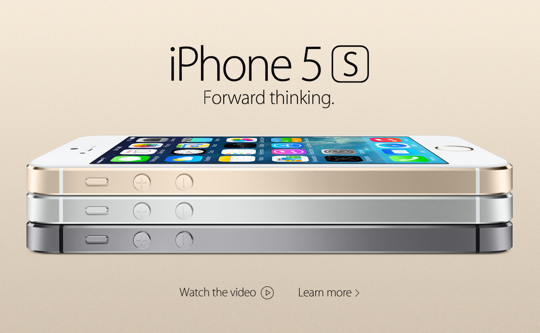 Apple iPhone 5S Forward Thinking