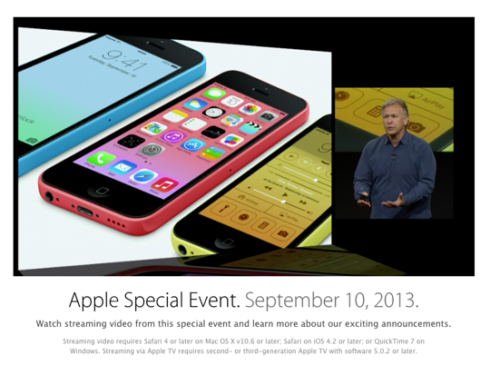 Watch The September 10th iPhone Keynote Now