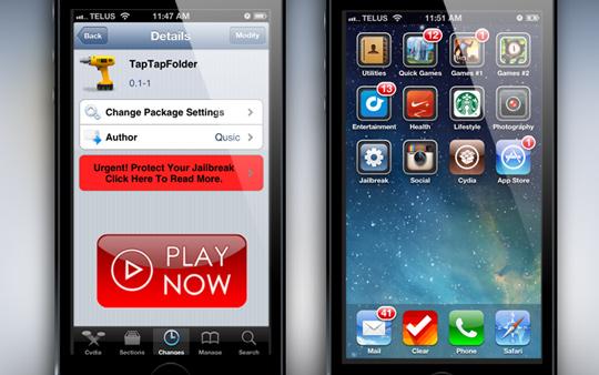TapTap-Folder-Cydia-Tweak