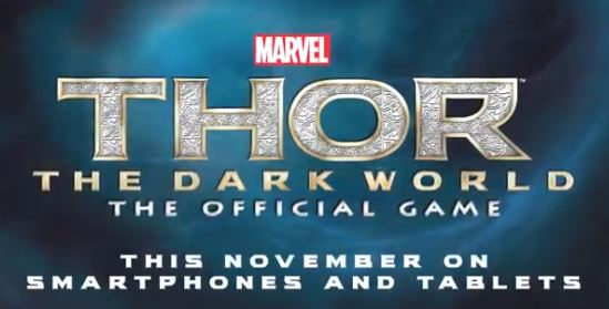 Thor The Dark World For iOS And Android