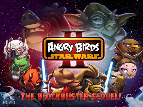 Angry Birds Star Was II For iOS
