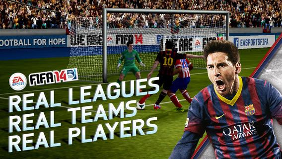 FIFA 14 iOS App