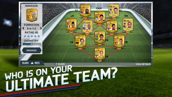FIFA 14 Teams