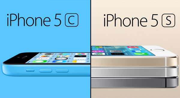 iPhone 5C and iPhone 5S