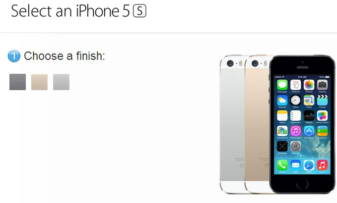 iPhone 5s Order