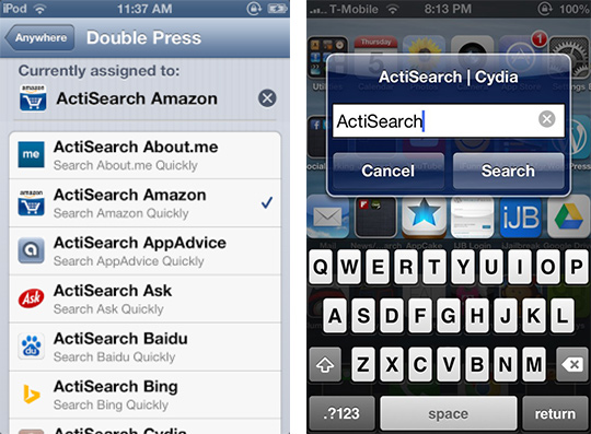 ActiaSearch Cydia Tweak-ijailbreak