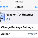 Evasi0n 7.x Untether Package Lands In Cydia To Bring About Evasi0n7 1.0.1 Updates To All Users