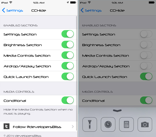 CCHide-Cydia-Tweak