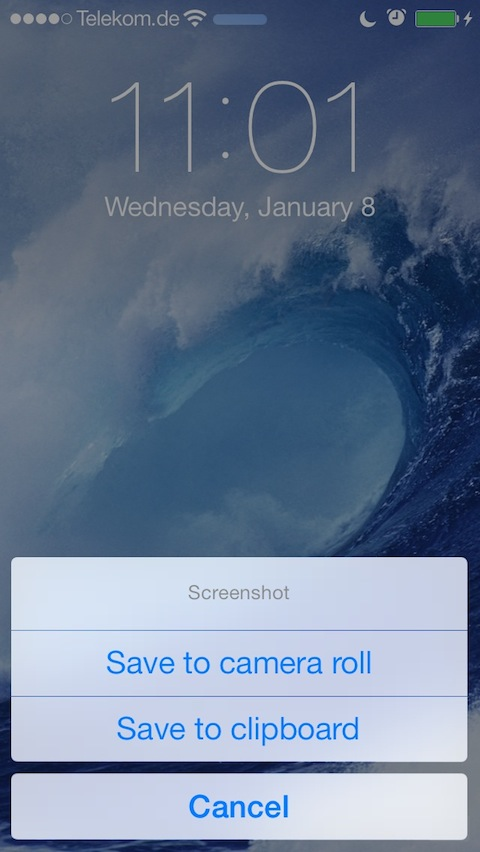 ClipShot Cydia Tweak