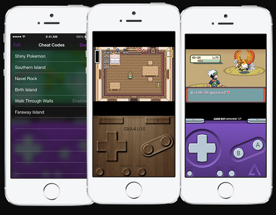 games for gba4ios