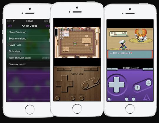 GBA4iOS 2.0 iOS 7