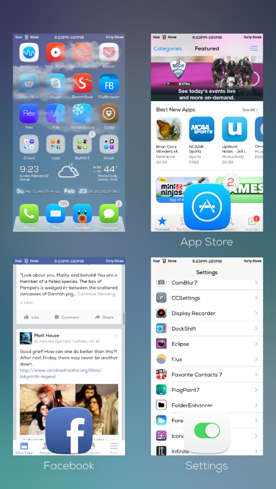 GridSwitcher Cydia Tweak