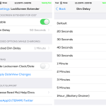 Lockscreen Extender Cydia Tweak: Set A Lock Screen Dim Delay