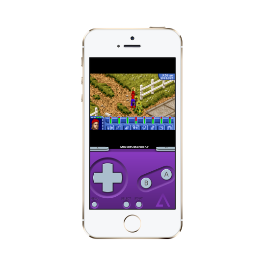 GBA4iOS 2.0 Gameboy Emulator Custom Skins