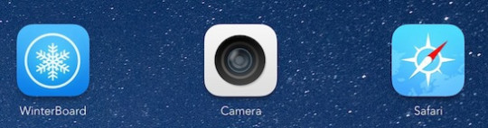 iOS 7 icons with Icon0matic enabled