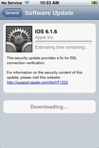 Download iOS 6.1.6 Firmware