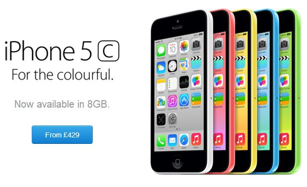 Apple Launches 8GB iPhone 5c, Replaces iPad 2 With 4th Gen ...