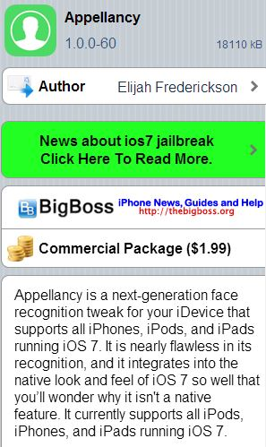 Appellancy Cydia Tweak