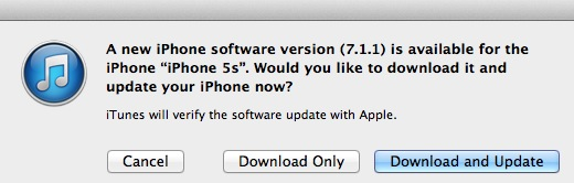 download iOS 7.1.1 ipsw