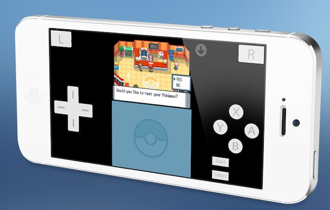 NDS4iOS Nintendo DS on iOS
