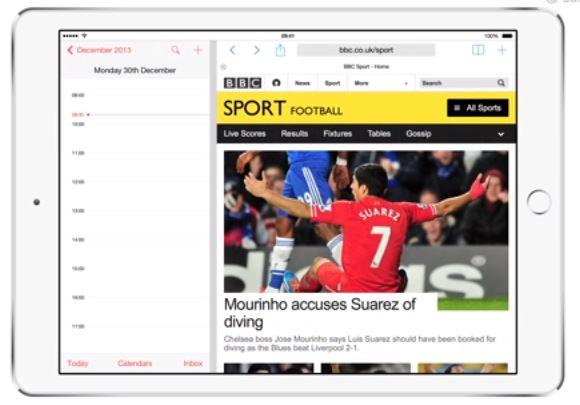 iOS 8 Concept - Split Screen Multitasking
