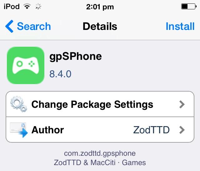 gpsPhone 8.4.0