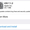 Apple Releases iOS 7.1.2, OS X 10.9.4 And Apple TV 6.2 Software